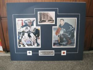 Photos Signed By CURTIS JOSEPH + JOHNNY BOWER