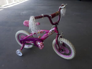Pink Princess Bike 14""