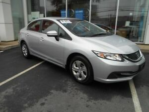 2014 HONDA CIVIC LX AUTO HEATED SEATS