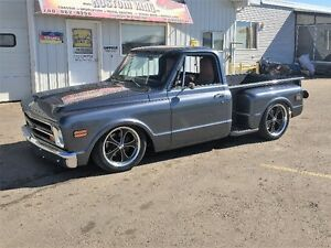 GREAT SHAPE! 1968 C10 Short box STEP SIDE!!!