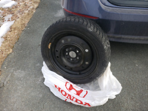 205/55R15 Nexen Weathermaxx Winter Tires+Steel Rims Honda Civic