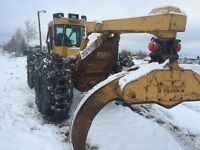 2006 Tigercat 620c grapple skidder with free delivery