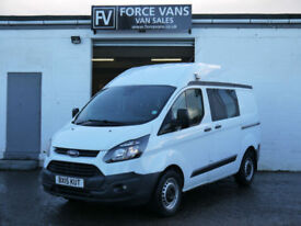 FORD TRANSIT CUSTOM 330 2.2TDCi 125PS L1H2 POLICE CREW BAND CAMPER DAY VAN BUS