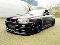1999 Nissan Skyline 2.6 GT-R R34 TWIN TURBO GTR + HUGE SPEC + 500bhp + Dyno