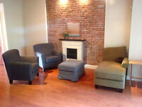 Furnished apartment to rent – 15 minute walk to the Milton gate
