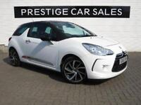 2015 DS Ds 3 1.6 BlueHDi DStyle Nav (s/s) 3dr Diesel white Manual