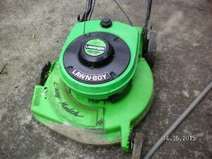 large selection of lawnmowers for sale serviced and ready