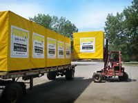Calgary Storage - Pak-n-Stor is self storage delivered to you.