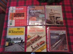 TRAIN / RAILWAY MEDIA - VINTAGE - LOT # 2 - REDUCED!!!