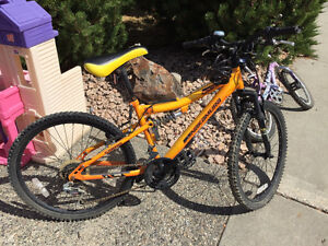 Orange Kids Bike