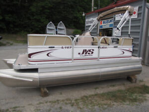 16ft Pontoon Boat NEW