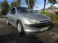 PEUGEOT 206 1.1 3 DOOR ZEST 2005 Petrol Manual in Silver