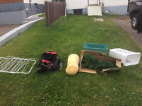 Assorted Things, free at the curb