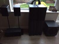 Q Acoustics 5.1 surround speakers