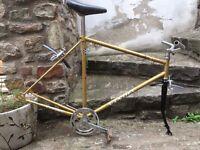 Steel bike frame fixie project fixed gear