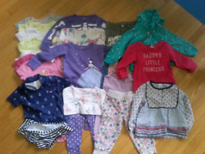 ALL CARTER'S 18 month Girl's Lot