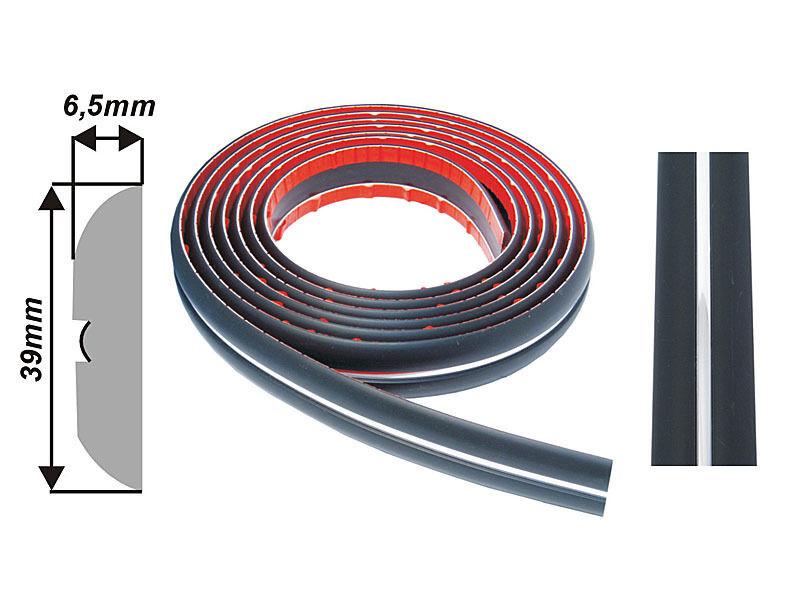003/39mm Car Body Door Bumper Protector Moulding Strip UNIVERSAL Fit A-M m/c