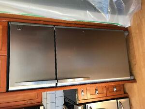 Stainless steel Kenmore fridge