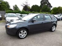 2010 FORD FOCUS STYLE 1.6 PETROL MANUAL 100 PS AIR CON 5 DOOR HATCHBACK