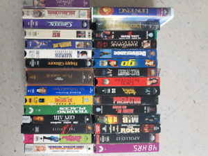 63 Classic VHS Movies