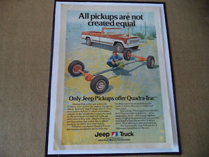 OLD INTERNATIONAL HARVESTER CLASSIC CAR ADS & JEEP Windsor Region Ontario image 2