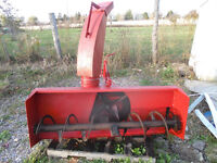 """Snow blower for tractor 3ph. 72""""wide"""