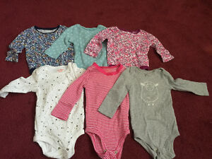 Slightly used baby girl clothes size 3-6