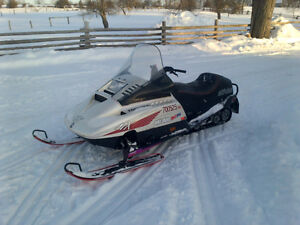 Good snowmobile for trails