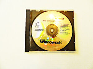Windows 98 CD, Product Key Included