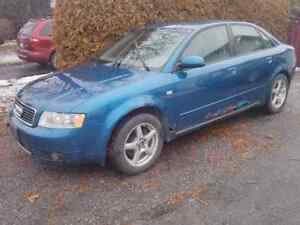 Audi A4 b6 1.8T parting out