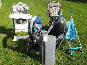 Various baby items in excellent condition