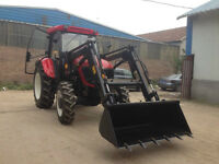 80HP Tractor, Cab w/AC, Loader, *Holiday Weekend Pricing*