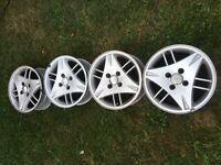 Genuine ford escort alloys x4