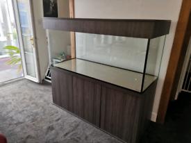 New 6x2x2 660l aquarium set! - Lucern Grey