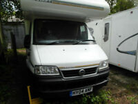 Swift Freestyle 630L - 6 Berth Motorhome - Satellite - Solar