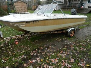 1981 Mercury 50 HP, 14' Boat & Trailer..$550.00