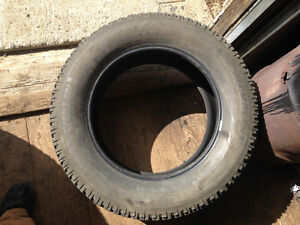 "Three 20"" used tires"