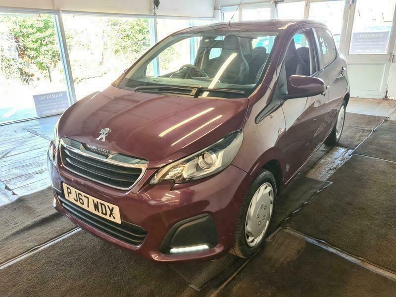 2017 Peugeot 108 1.0 ACTIVE HATCHBACK Petrol Manual
