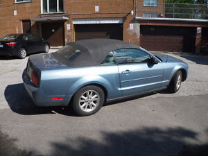 2007 Ford Mustang BLUE Convertible