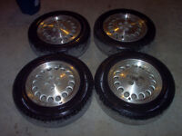 Dodge Shelby Charger Rims with rubber