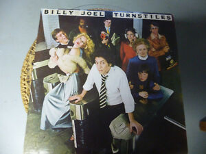 DISQUE VINYLE (BILLY JOEL TURNSTILES)