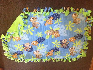 Nemo handmade fleece blanket