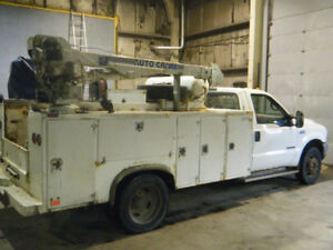 2001 Ford F550 Service Truck