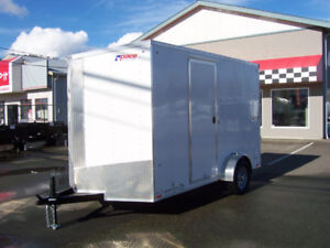 2017 Pace American 14ft VNose Enclosed Cargo Trailer Xtra Height
