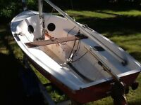 Kolibri 12ft dinghy sailboat