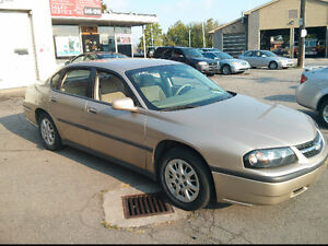 2005  Impala  carfax provided certified etested warranty