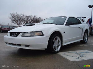 Parting out White 2001 mustang GT