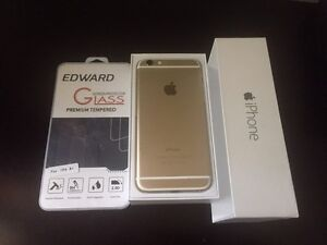 Gold iPhone 6 - 64GB like new in box