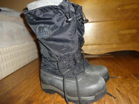 Waterproof SOREL Winter Tall-Boots Size 9