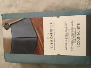 King size bed skirt- brand new